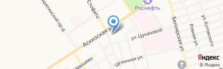 Детский транспорт на карте Абакана