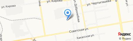 Город мастеров на карте Абакана