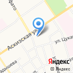 Рынок Сибирь на карте Абакана