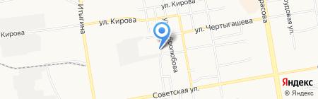 Профессиональный АвтоЭвакуатор на карте Абакана
