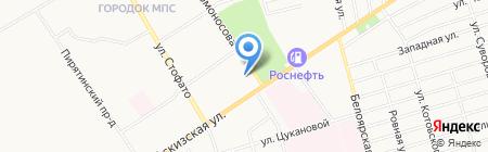 Почтовое отделение №9 на карте Абакана