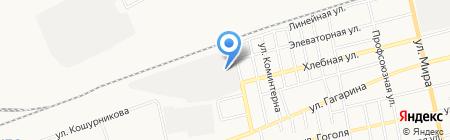 Красноярская дирекция по управлению терминально-складским комплексом на карте Абакана