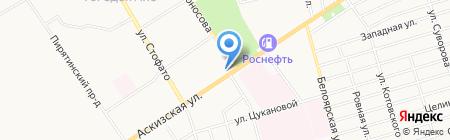 Славянка на карте Абакана