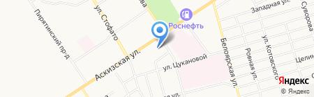 Свисхоум на карте Абакана