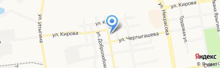 Грузовая компания на карте Абакана