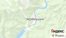 Отели города Черемушки на карте