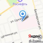 Бюро судебно-медицинской экспертизы по Республике Хакасия на карте Абакана