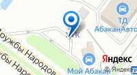 Компания 25 часов на карте
