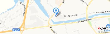 Автодок-Ойл на карте Абакана