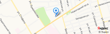 Нелли на карте Абакана