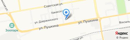 Банкомат Россельхозбанк на карте Абакана