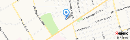 Абакан Автотент на карте Абакана