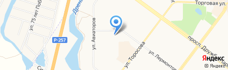 Gym Time на карте Абакана