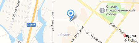 Эксперт Групп на карте Абакана