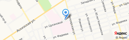 Хакасский на карте Абакана