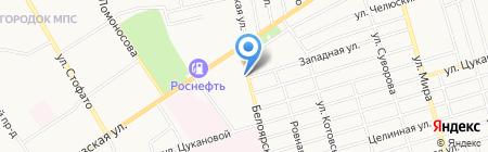 Лоза на карте Абакана