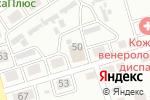 Схема проезда до компании Элитная сауна в Абакане