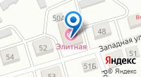 Компания Элитная сауна на карте