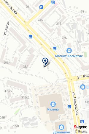 АЗС на карте Абакана