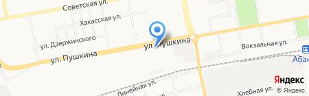 Центр рессорной продукции на карте Абакана