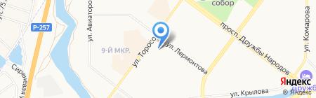 Саянэнергосервис на карте Абакана