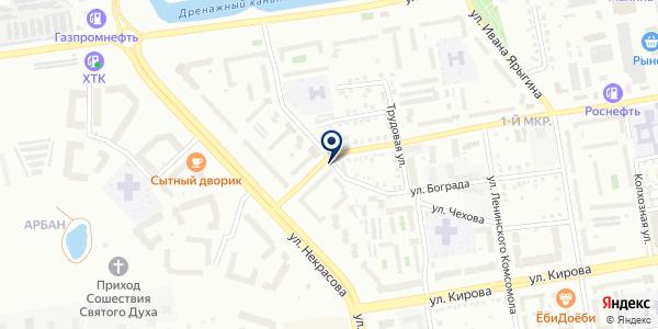 Котлета на карте Абакане