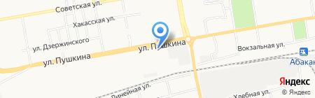 Дом Колотушкина на карте Абакана