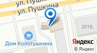 Компания AUTOРАЙ на карте