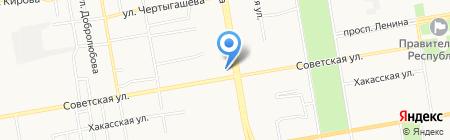 Наш город на карте Абакана