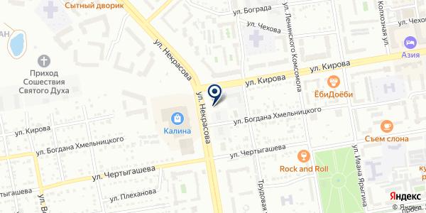 АЖФ на карте Абакане