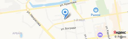 Центр автоэкспертизы на карте Абакана