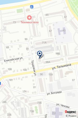 АварКом на карте Абакана