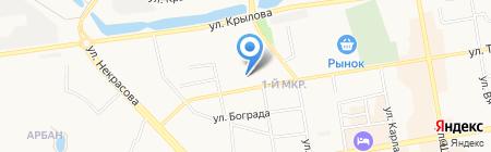 ЖЭУ-5 на карте Абакана