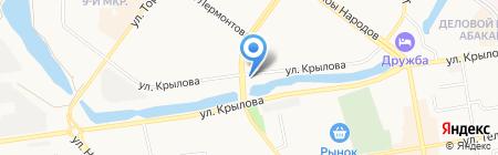 Авто Drive на карте Абакана