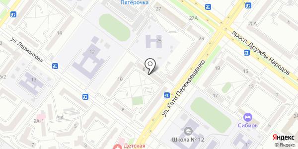 Линь-Линь. Схема проезда в Абакане