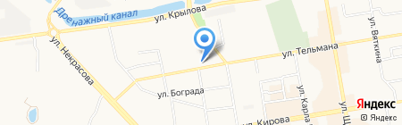 Мастерская по ремонту обуви на ул. Тельмана на карте Абакана