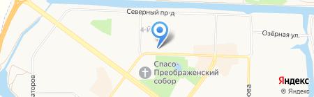 Банкомат АКБ Мособлбанк на карте Абакана