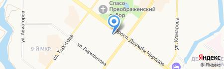 Mascotte на карте Абакана