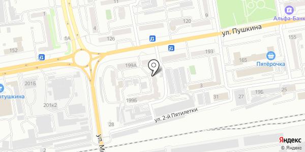 Verona. Схема проезда в Абакане