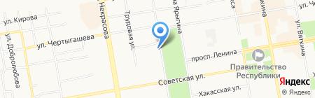 Урал-Пресс на карте Абакана