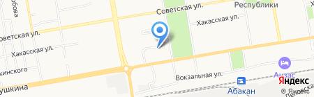 Сибирское межрегиональное территориальное Управление Федерального агентства по техническому регулированию и метрологии на карте Абакана