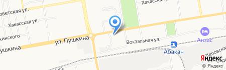 Кондитерская лавка на карте Абакана