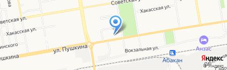 ТАИС радиосвязь на карте Абакана