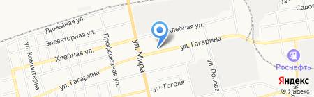 Почтовое отделение №2 на карте Абакана