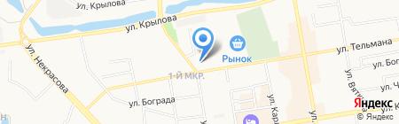 МРЭО ГИБДД МВД по Республике Хакасия на карте Абакана