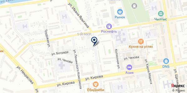 Базис на карте Абакане