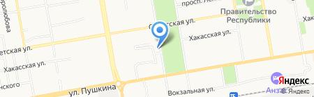 Красноярское протезно-ортопедическое предприятие на карте Абакана