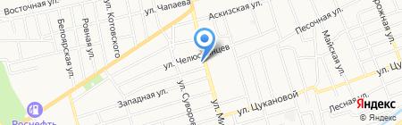 Автосервис на карте Абакана