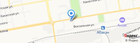 Гиалит на карте Абакана
