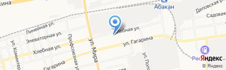 Храм преподобного Серафима Саровского на карте Абакана